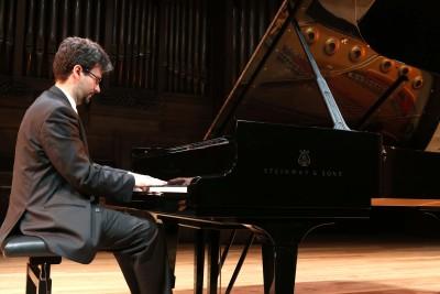 Daniel del Pino. Concierto La formación del virtuoso: estudios para piano