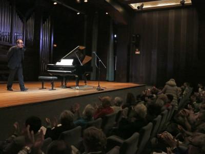 Claudio Martínez Mehner. Concierto La formación del virtuoso: estudios para piano