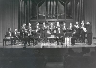 Grupo Musical Alfonso X el Sabio. Concierto Canto gregoriano