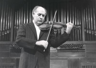 Gonçal Comellas. Concierto Música para violín solo