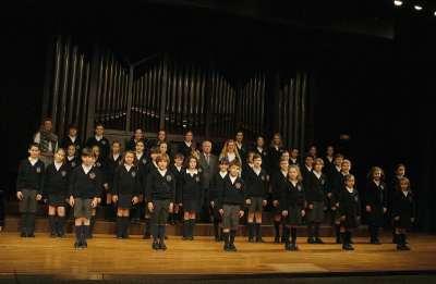 Escolanía Sagrado Corazón de Rosales, Belén Sirera y Camilo Williart Fabri. Concierto Voces blancas