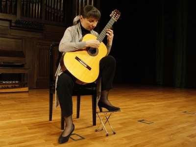 Avelina Vidal Seara Seara. Concierto Los nuevos mundos de la guitarra - La guitarra española: de Sor al siglo XXI