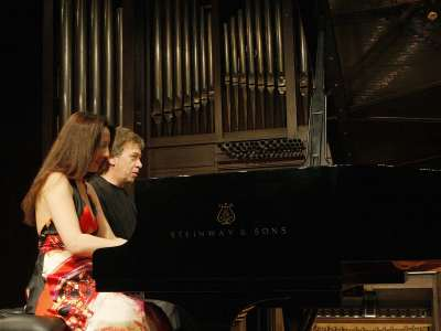 Ilona Timchenko y Jorge Otero. Concierto Brahms transcribe a Brahms: integral de las sinfonías a cuatro manos