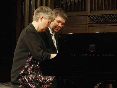 Silke-Thora Matthies y Christian Köhn. Concierto Brahms transcribe a Brahms: integral de las sinfonías a cuatro manos