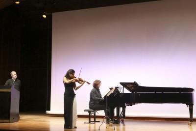 Fernando Palacios, Ana María Valderrama y Luis del Valle. Concierto Paul Klee, el pintor violinista - Conciertos en familia