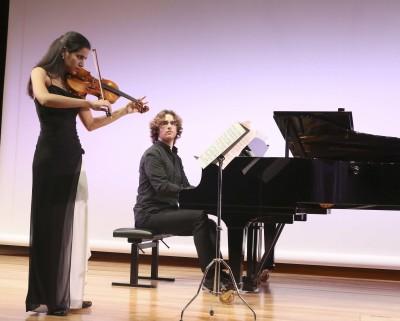 Ana María Valderrama y Luis del Valle. Concierto Paul Klee, el pintor violinista - Conciertos en familia