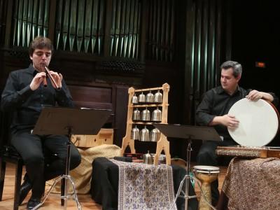 Eloqventia, Alejandro Villar y David Mayoral. Concierto Virtuosismo medieval a dúo - Instrumentalis musica Medii Aevi