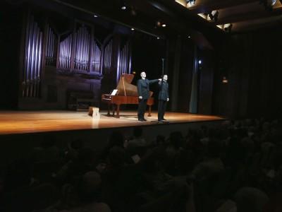 David Aijón Bruno y Damián del Castillo. Concierto Románticos al fortepiano