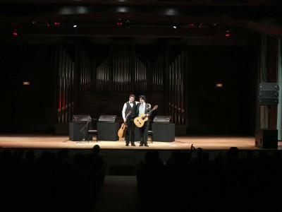 Juan Carlos Gómez y Juan Manuel Cañizares. Concierto Guitarra flamenca - Los mundos de la guitarra