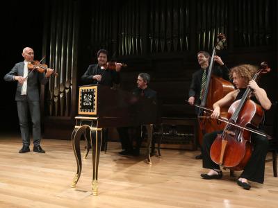 Enrico Onofri y Orquesta Barroca de Sevilla. Concierto Música hipnótica: chaconas y folías