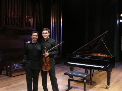 Francisco García Fullana y José Menor. Concierto Música hipnótica: chaconas y folías