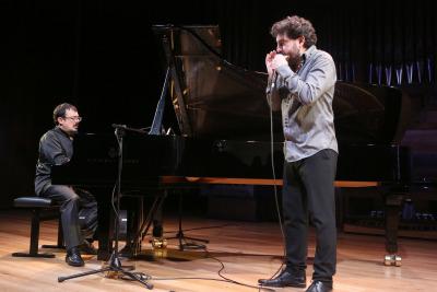 Federico Lechner y Antonio Serrano. Concierto Rapsodia triste - Blues, de Mississippi a Chicago