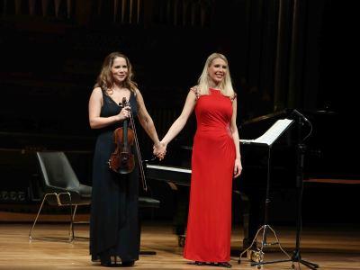 Sophia Moser y Katja Huhn. Concierto Sinfonía nº 6 - Las sinfonías de Beethoven en arreglos de cámara