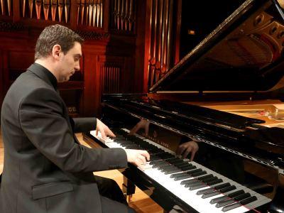 Carles Marín. Concierto Fuego - Música y arte sonoro: los cuatro elementos