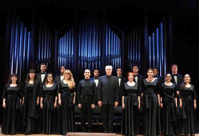 Coro Intermezzo, Andrés Máspero y Miguel Ángel Arqued. Concierto Obras corales - E.T.A. Hoffmann: música y literatura