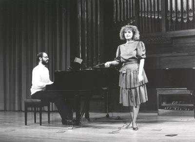 Mª José Sánchez y Sebastián Mariné. Recital de canto y piano