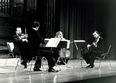 Cuarteto Arbós. Concierto Con motivo de la edición del Catálogo de obras de Julio Gómez, de Beatriz M. del Fresno - [Concierto especial 16]
