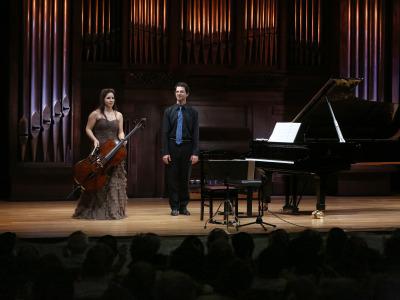 Beatriz Blanco y Federico Bosco. Concierto Recital de violonchelo y piano