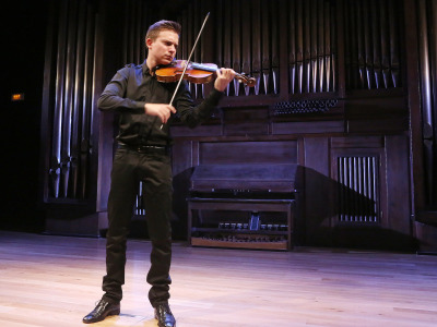 Javier Aznárez. Concierto Recital de violín