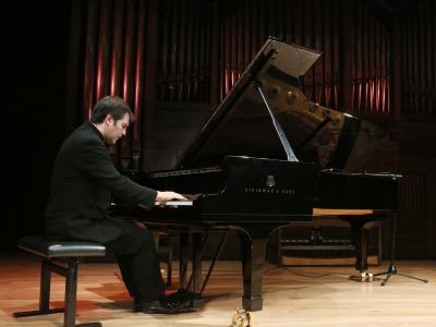 Héctor Guerrero. Concierto Lorenzo Palomo: Homenaje a Juan Ramón Jiménez