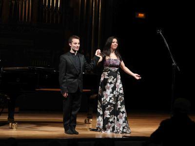 Verónica Plata y Héctor Eliel Marqués Fornieles. Concierto Recital de canto y piano