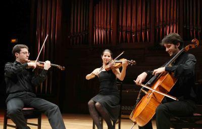 Proyecto Brunetti, Fernando Pascual, Isabel López y Joan Carrascosa. Concierto Recital de música de cámara