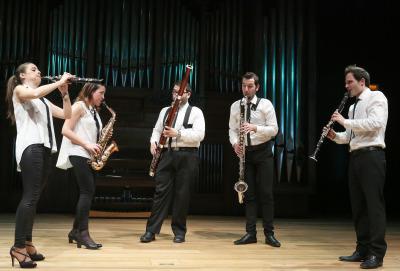 Barcelona Reed Quintet. Concierto Recital de música de cámara