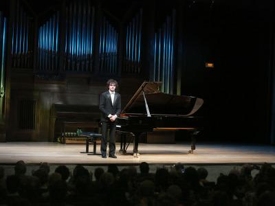 Martín García García. Concierto Recital de piano