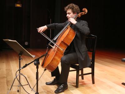 Lilit Grigoryan y Pau Codina. Concierto Recital de violonchelo y piano