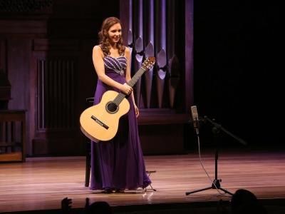 Mabel Millán. Concierto Recital de guitarra
