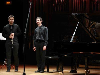 Federico Bosco y Pablo Barragán. Concierto Recital de clarinete y piano