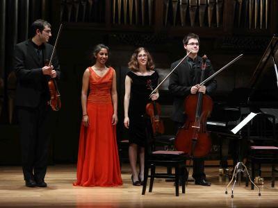 """Grupo Brahms de """"El Mundo"""" (Escuela Superior de Música Reina Sofía). Concierto Recital de música de cámara"""