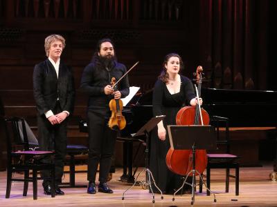 Trio Händel de Puertos del Estado (Alumnos de la Escuela Superior de Música Reina Sofía). Concierto Recital de música de cámara