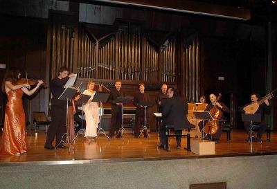 Capilla Real de Madrid y Oscar Gershensohn. Concierto Monteverdi - Música barroca
