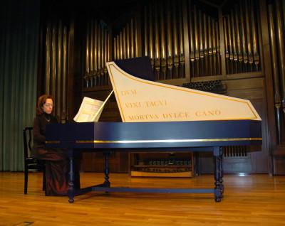 Pilar Montoya. Concierto 150 años de música europea para tecla - Música barroca