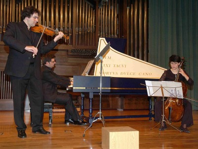 Passamezzo Antico. Concierto El violín barroco - Música barroca