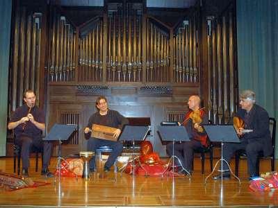 Cuarteto Urueña. Concierto Judíos, moros y cristianos - La canción española