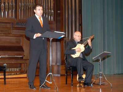 Carlos Mena y Carlos Rivera. Concierto Los vihuelistas del XVI - La canción española