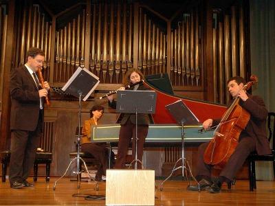 Zarabanda. Concierto Danzas y sonatas para flautas y continuo - Música barroca