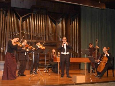 La Folía. Grupo de Música Barroca. Concierto El concierto para solista - Música barroca