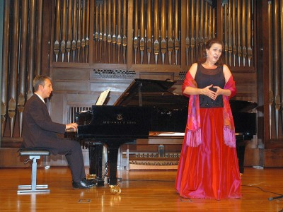 Elisa Belmonte y Julio Alexis Muñoz. Concierto Canciones del XIX - La canción española