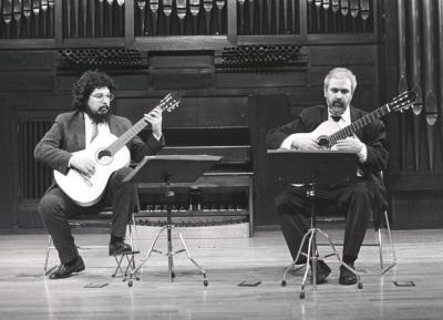 Antonio Ruiz Berjano y Gerardo Arriaga. Recital de dúo de guitarra
