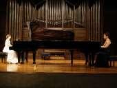 Dúo Aristizábal-Barandiarán, Itxaso Aristizábal y Esther Barandiarán. Concierto Recital de dúo de pianos , 2010
