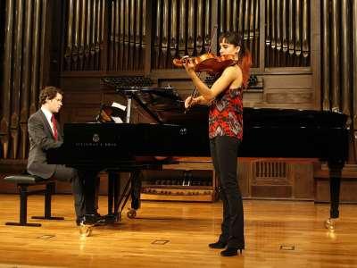 Cristina Gestido y Luis Parés. Concierto Recital de viola y piano