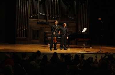 Fernando Cruz y Iván López. Concierto Recital de violín y piano