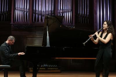 Ona Cardona y Timothy Lissimore. Concierto Recital de clarinete y piano