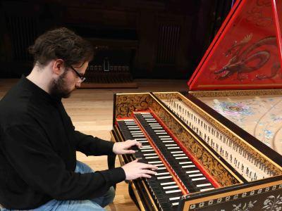 Jorge García Martín. Concierto Recital de clave