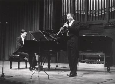 Gerardo López Laguna y Miguel Quirós. Concierto El viento en la música francesa