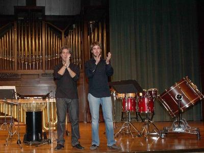 Juanjo Guillem y Rafael Gálvez. Recitales para jóvenes