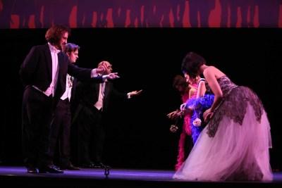 Cendrillon. Teatro musical de cámara. José Manuel Montero, María Rey-Joly, Pablo García López, Mercedes Lario, José Antonio Carril y Marta Knörr